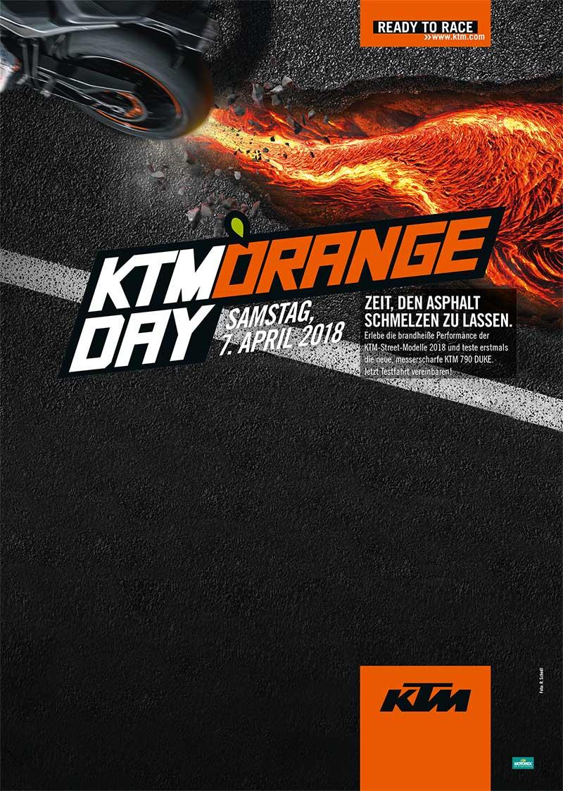 KTM Vertragshändler Motorradsport Schmitt - KTM ORANGE DAY 2018